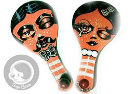 Eye Smacker - Bi Paddle