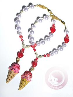 Ice Queen Cone Wearable Art Object