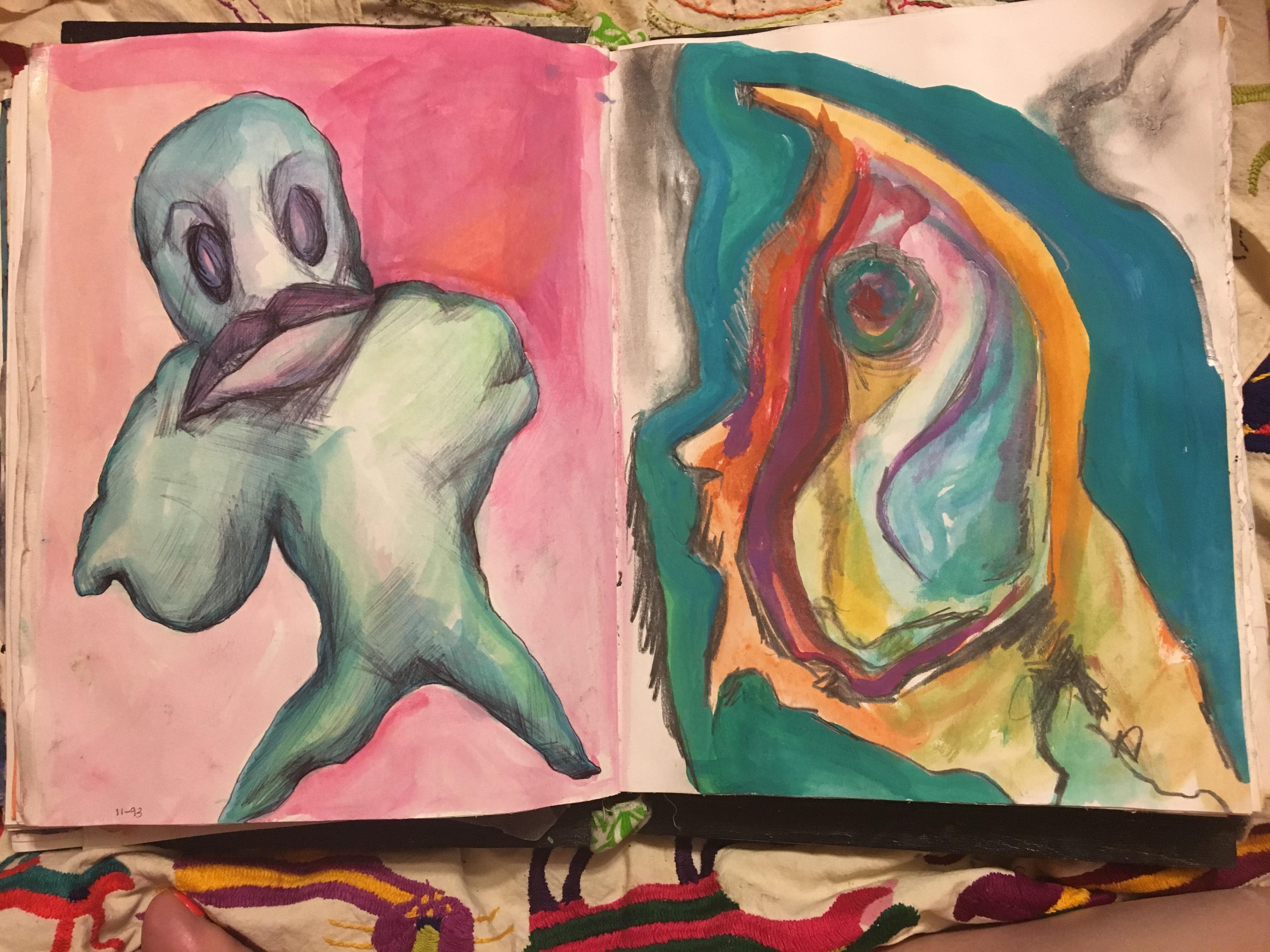 Angie Journals 1992