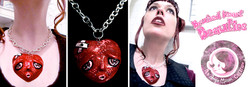 Bruised Heart Beauties Necklace