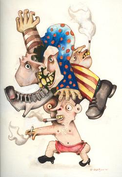 Schizophrenic Smoke Job