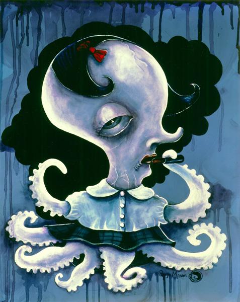 Octopus Girl(A Subtle Destruction)