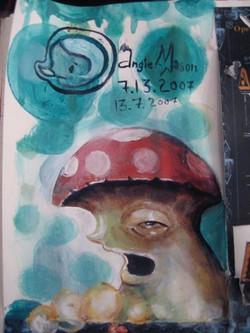 Fungus among us - Sketch
