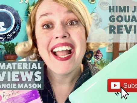 Art Material Reviews with Artist Angie Mason EP.02: Himi Jelly Gouache Review & Unboxing