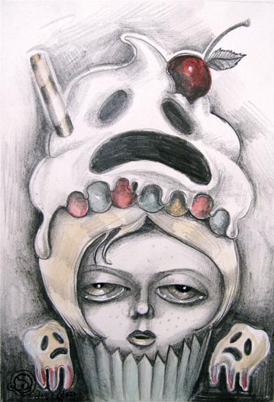 Princess Stuckaches Cupcakes Study