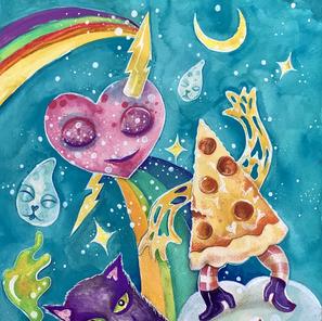 Pizza Party - Quarandreams Series