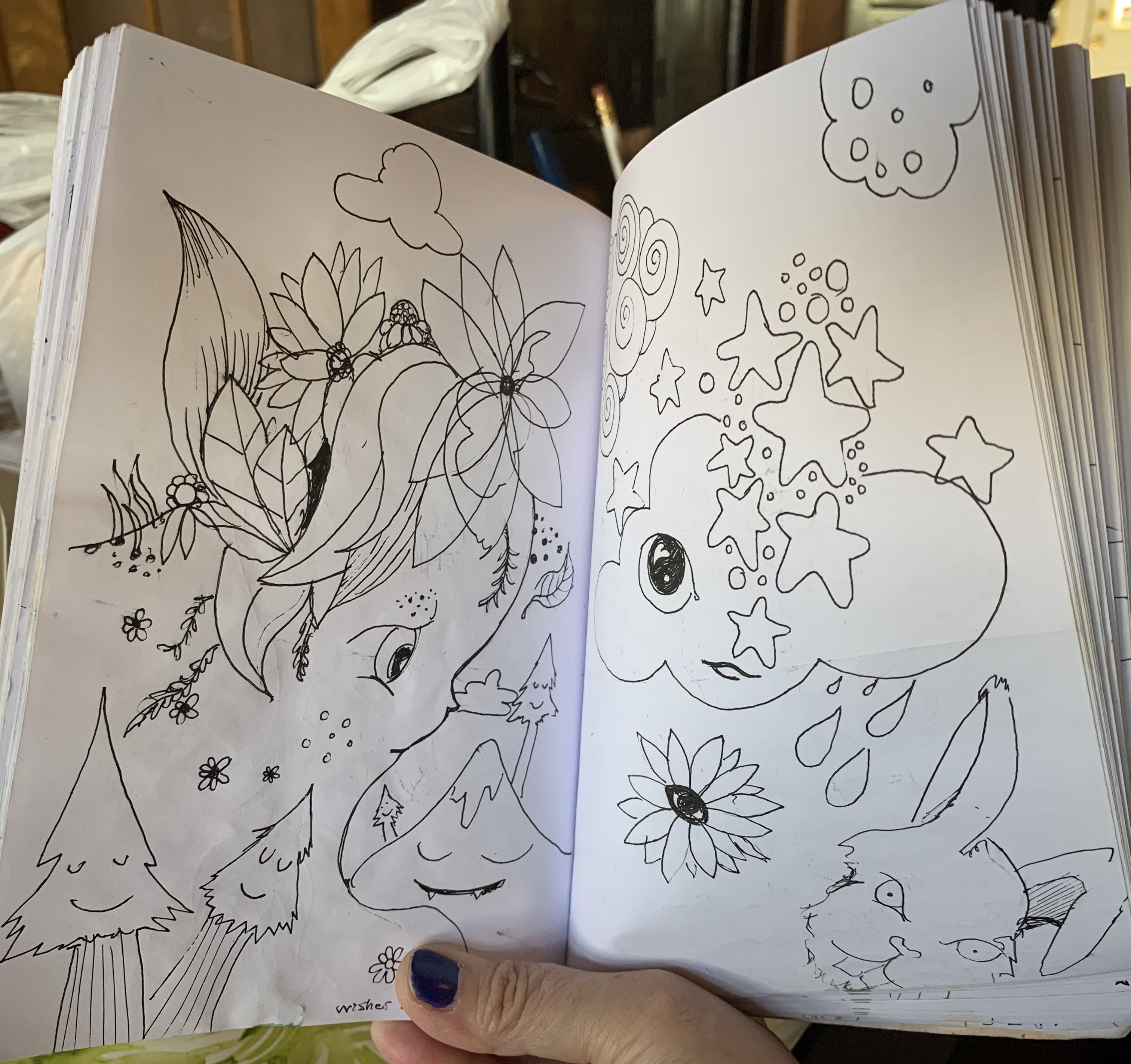 The Angie Journals Spread