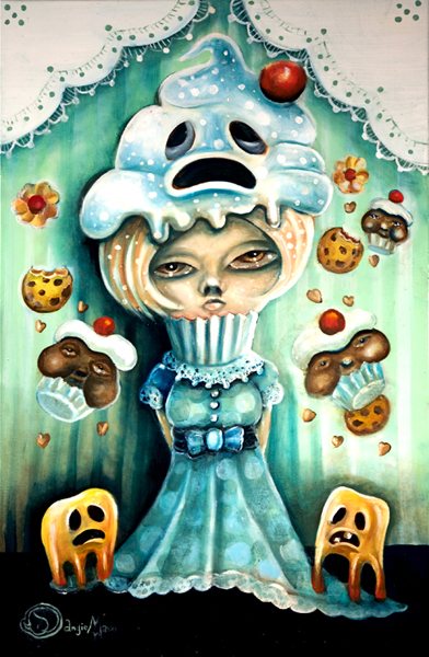 Princess Stuckaches Cupcakes