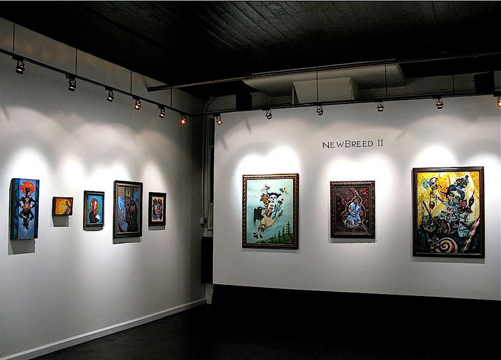 New Breed Group Show - Last Rites Gallery NYC 2010