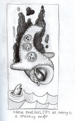 Nose Dive Girl