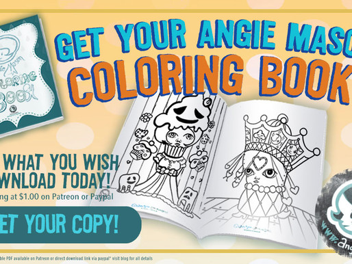 Get Your Angie Mason Coloring Book - Download Today!