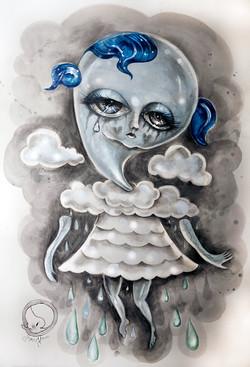 Torrential Downpour Girl