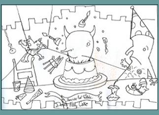 Devils Fool Cake