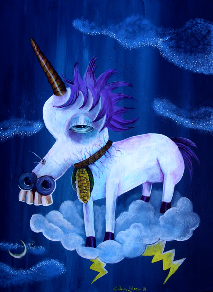 Unicorn On The Cobb
