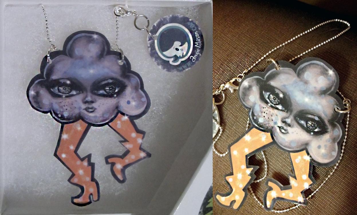 Storm Damage necklace