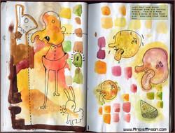 Sketchbook pages - Untitled