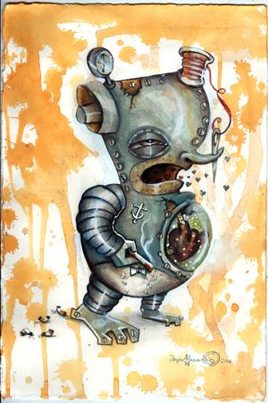 Anxious Robot(Rust Gutter)