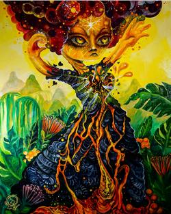 'Girl In Eruption'