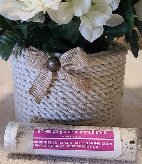 Peppermint Bath/Foot Soak 10oz bag