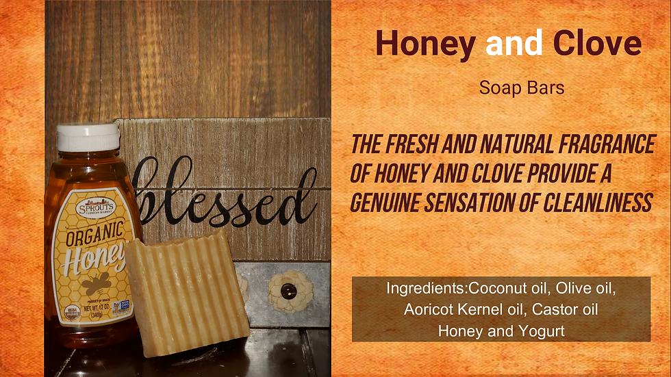 Honey & Clove Body Bar