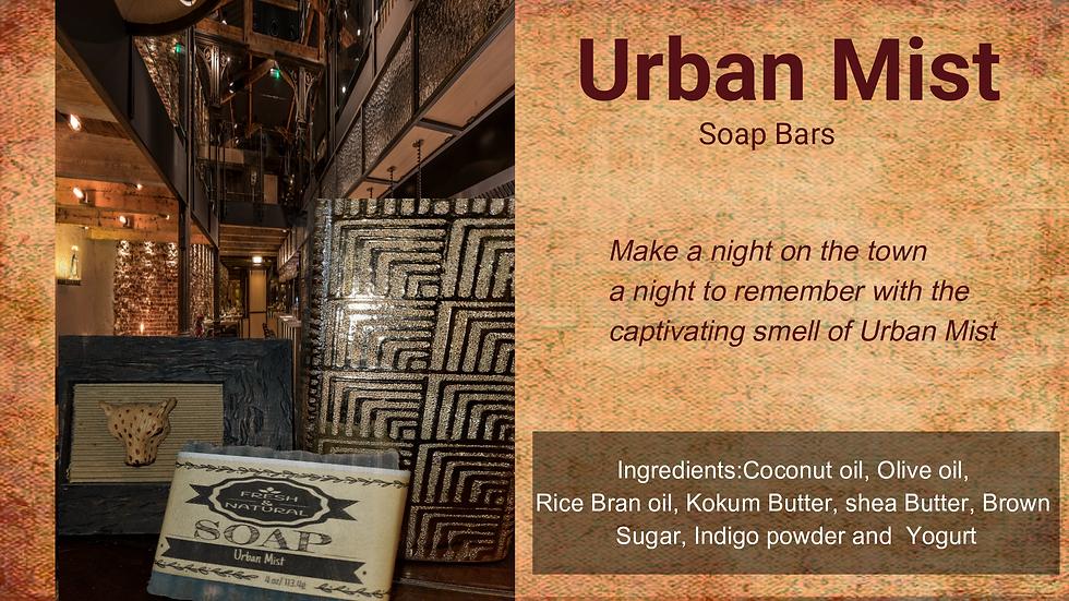 Urban Mist Body Bar