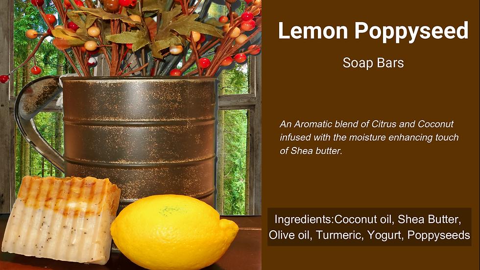 Lemon Poppy Seed Body Bar
