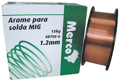 Arame para Solda MIG ER70S-6 1.2 mm