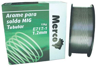 Arame para Solda MIG Tubular 1.2 mm