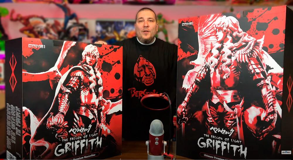 Berserk Griffith, The Falcon of Light Prime one studio