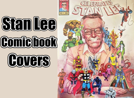 Stan Lee Comic Book Cover Hunt!