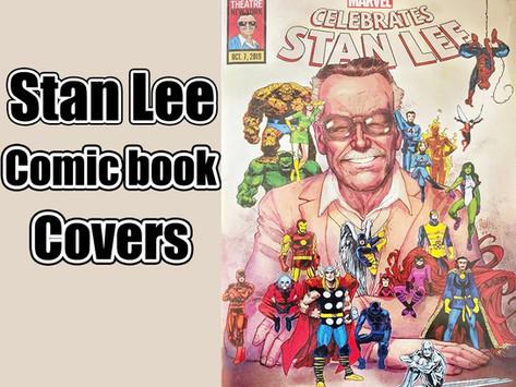 Stan Lee Comic Book Cover Hunt!