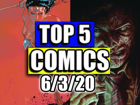 Top 5 Comics 6/3/20