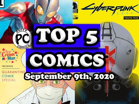Top 5 Comics 9/9/20