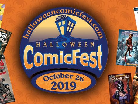 Halloween Comicfest is Upon us