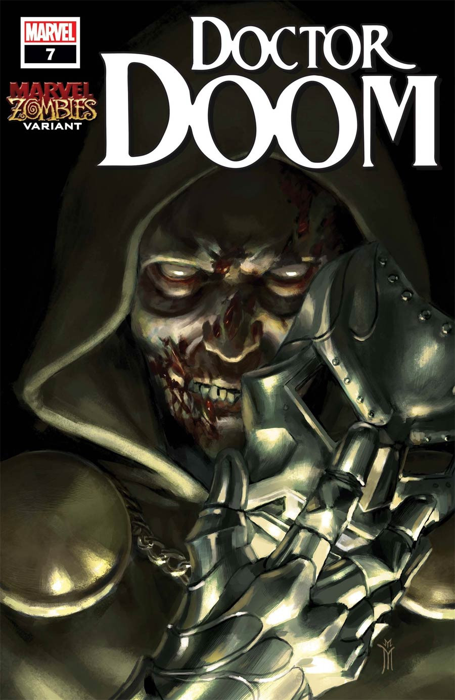 Doctor Doom Issue #7 Marvel Comics Marvel Zombies Cover