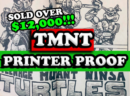 Teenage Mutant Ninja Turtles Printer Proof