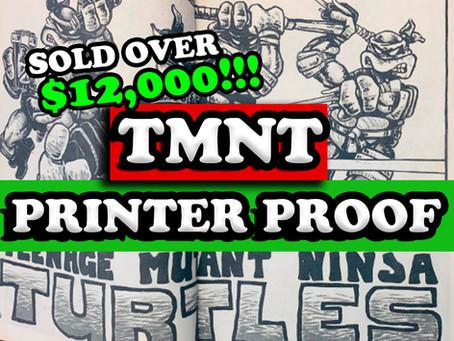 Teenage Mutant Ninja Turtles Printer Proof