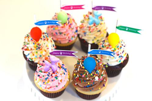 Birthday Balloon Cupcake & Cake Pop Collection
