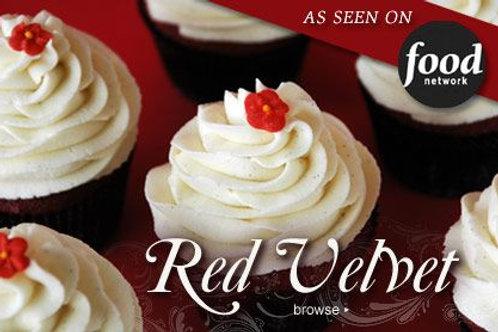 Red Velvet Dozen Cupcake Collection