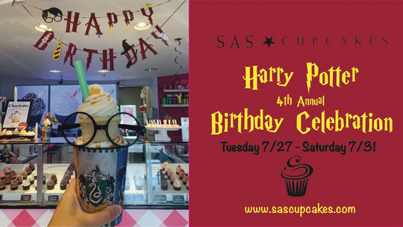 4th Annual Harry Potter Birthday Celebration