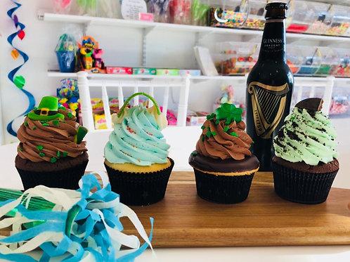 St. Patrick's Day Dozen Cupcakes