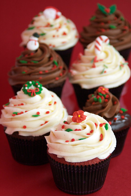 Holiday Cupcake & Cake Pop Collection