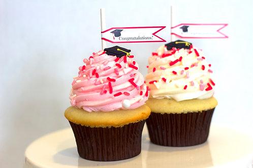 Princess Grad Cupcakes