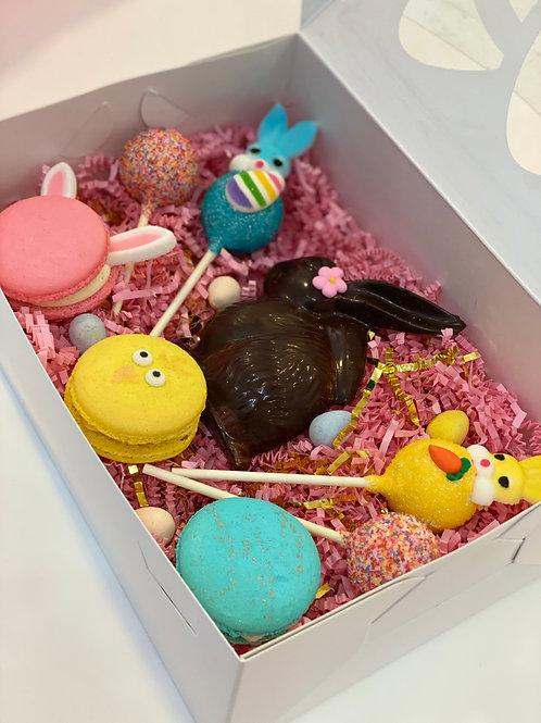 Chocolate Bunny Treat Box (8 Treats)