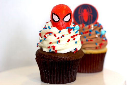 Spiderman Cupcake Collection