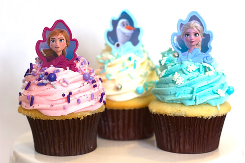Frozen II Cupcake Collection