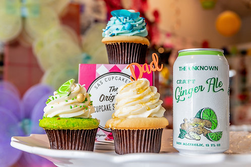 The Unknown Craft Ginger Ale Inspire Cupcakes