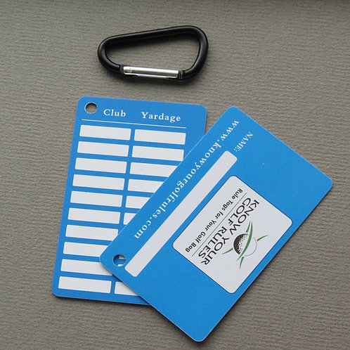 51+ Know Your Distance Tags ($1.95/per tag)