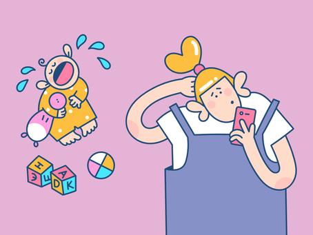 Вашего ребенка тоже огорчает, когда вы смотрите в телефон? Этому есть научное объяснение