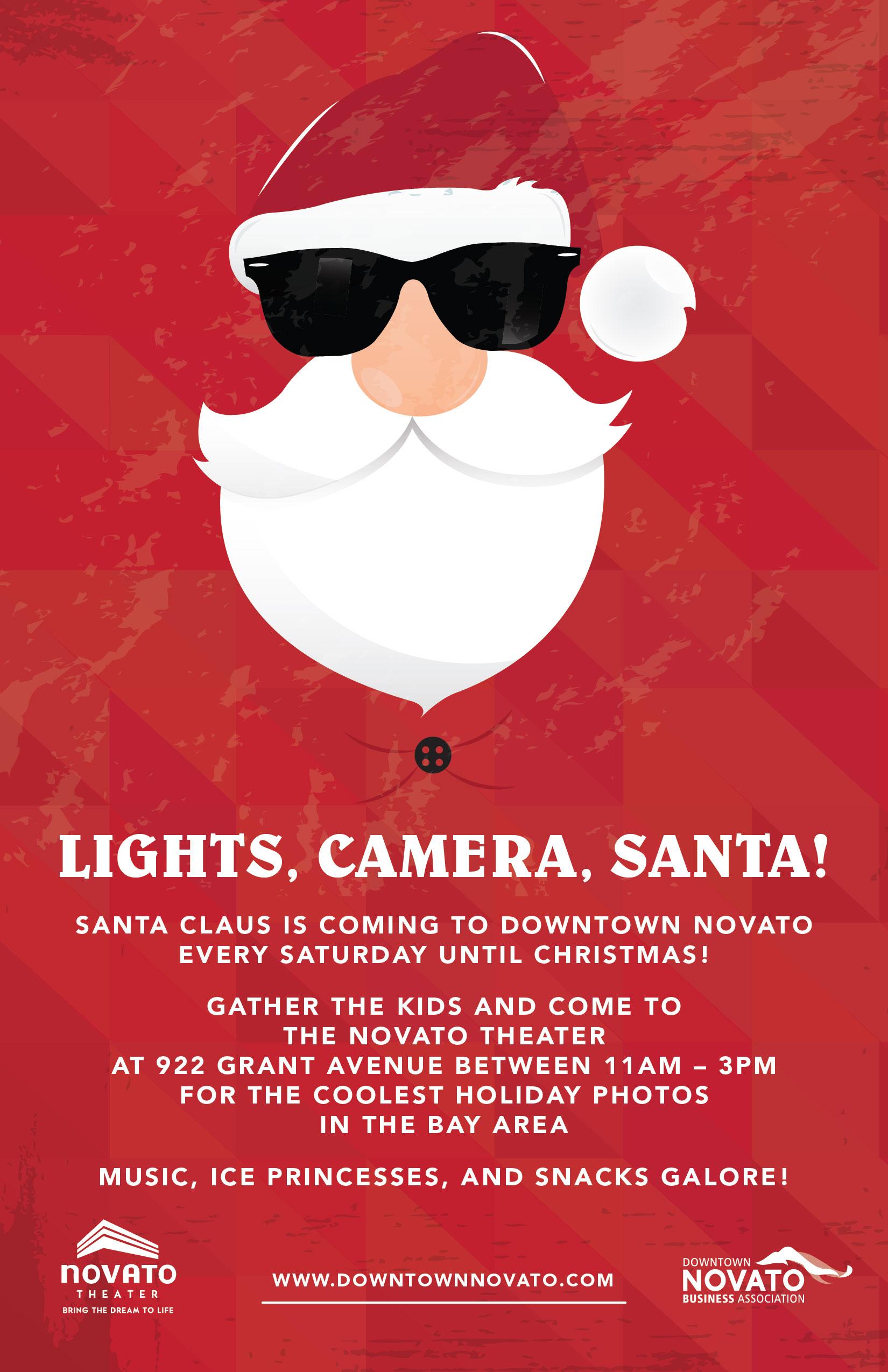 Lights, Camera, Santa!